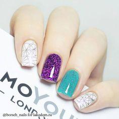 30 Diseños de uñas decoradas para el 2017 | Decoración de Uñas - Manicura y Nail Art