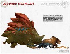 Wildstar Online -Alien Creatures