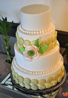 macaron wedding cake - Google Search