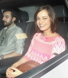 Dia Mirza and Sahil Sangha at 'Dil Dhadakne Do' screening. #Bollywood #Fashion #Style #DilDhadakneDo #Beauty