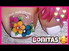 Pretty Toe Nails, Cute Toe Nails, Toe Nail Art, Gorgeous Nails, Gel Nails, Nail Salon Design, New Nail Art Design, Sunflower Nails, Special Nails