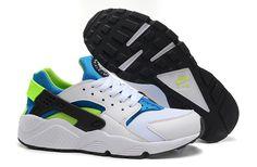 2eb879d0ccc8b6 nike air huarache mens white blue green shoes cheap sale Nike Running Shoes  Women