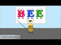 Long Vowel E Vowel Vowel, Beginning Readers Grammar Phonics Lesson