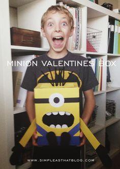 Minion Valentines Box