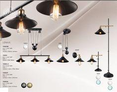 Lustra VINTAGE design deosebit cu inaltime reglabila LENIUS III 15053-3 GL - Corpuri de iluminat, lustre, aplice Ceiling Lights, Lighting, Interior, Vintage, Design, Home Decor, Pendulum Clock, Decoration Home, Indoor
