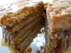 Molasses Apple Stack Cake-old fashioned goodness
