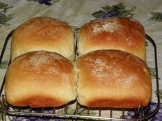 Sourdough Buns - I've been trying to find the perfect homemade burger bun recipe.  These were dense but taste great!