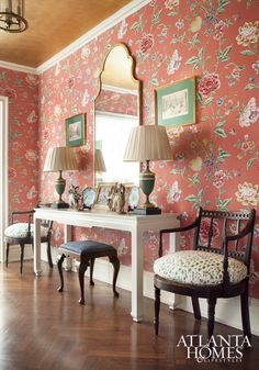 Yesterday I featured a Q&A with Atlanta-based interior designer, Margaret Kirkland. I am such a fan of her fresh and elegant approach to traditional design, and today I am thrilled to share a b…