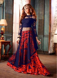 Link to buy: http://www.sonicasarees.com/lehenga-choli?catalog=3788 Price range: Rs 4934/- Shipped worldwide within 7 days. Lowest price guaranteed.