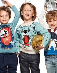 H&M Kids Holiday 2014 Campaign