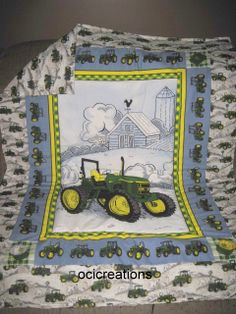 Baby/Toddler Blanket Made With JOHN DEERE Fabric by ocicreations, $35.00
