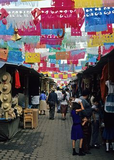 Mercado de Antojitos Uruapan,Mexico-Where momma is from :) I'll see you soon