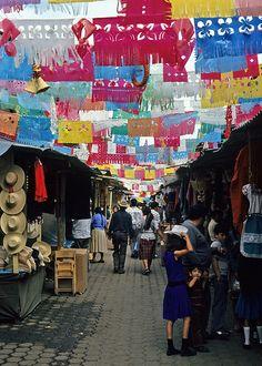 Mercado de Antojitos Uruapan,Mexico