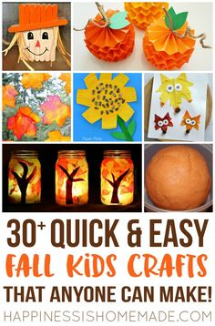 45 quick and easy kids craft project ideas that take less than FIFTEEN minutes…