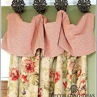 Lovely living room curtains