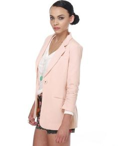 Cute Pink Blazer - Pink Jacket - Woman's Blazer - $56.00 - StyleSays