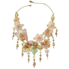Victorian Lace Necklace 152130 - Michal Negrin