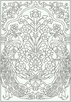 Mandala Drawing Book New 44 Most Splendid Mandala Peacock Adult Coloring Pages for Colorful Drawings, Colorful Art, Mandala Coloring, Colorful Pictures, Art, Dover Publications, Peacock Coloring Pages, Color