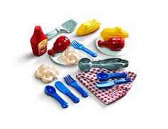 617928 Features: -Backyard barbeque backyard picnic.-Comes with enough goodies for the perfect pretend picnic lunch.-Complete play BBQ lunch set.-Perfect complement for any little tikes grill.-Enough ...