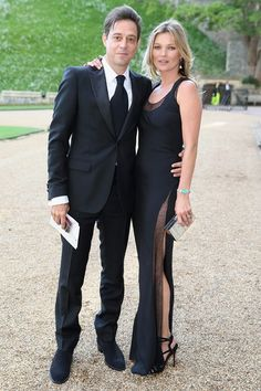 Ralph Laurens Royal Reception at Windsor Castle - Kate Moss and Jamie Hince