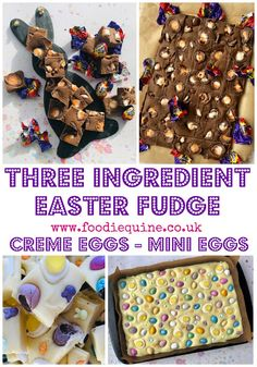 Three Ingredient Cadbury Mini Creme Egg Fudge | Foodie Quine - Edible Scottish Adventures Terry's Chocolate Orange, Easter Chocolate, Romanian Food, Romanian Recipes, Turkish Recipes, Scotch Pancakes, Expensive Chocolate, Scottish Tablet, Fudge Recipes