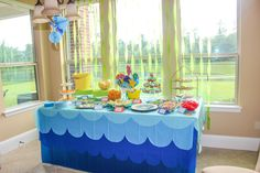 "The Monogrammed Mom: Hostessing: D's ""O-FISH-AL"" Adoption Finalization Party!!"