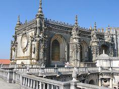 Templar's monastery in Tomar, Portugal