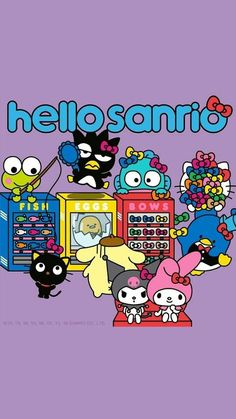 Hello Sanrio Sanrio Wallpaper, Hello Kitty Wallpaper, Iphone Wallpaper, Sanrio Danshi, Pochacco, Sanrio Hello Kitty, Sanrio Characters, Little Twin Stars, My Melody