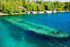 Lac Huron aux Etats Unis