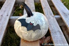 No Carve Pumpkin Ideas - Find it, Make it, Love it