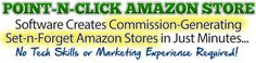 There are tons of categories in amazon store, choose one for you and create your own amazon affiliate store.