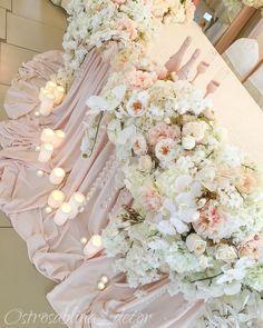 Классическое и нежное оформление всегда будет в моде  #столмолодоженов #столмолодых #президиум #декорсвадьбы #оформлениесвадьбы #остросаблина_декор #свадьба #свадьба #свадьбавкраснодаре #свадтбакраснодар #nina_decor #weddingdecor #weddingkrasbodar #wedding