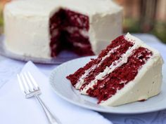 Make Red Velvet Cake From Scratch --> http://www.hgtv.com/entertaining/red-velvet-cake-recipe/index.html?soc=pinterest