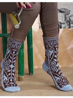 Provenance Knitted Socks Pattern   InterweaveStore.com