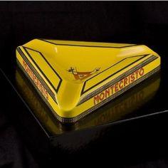 Montecristo triangular cigar ashtray