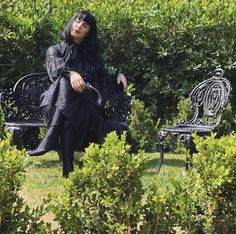 Black Garden, Punk Goth, Kat Von D, Post Punk, Wave, Style, Rock, Fashion, Swag