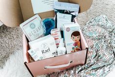 Delivery essentials for mom - sitz bath soak - organic cotton oversized pads - two pairs of mesh undies - perineal ice pack - stool softener - perineal healing spray - peri-rinse bottle - calming drops to help ease new moms worries Postpartum Recovery, Postpartum Care, Funny Anecdotes, Earth Mama, Baby List, Bath Soak, First Time Moms, Nursery Inspiration, Baby Store