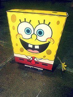 Sinterklaas surprise van Nickelodeon en SpongeBob