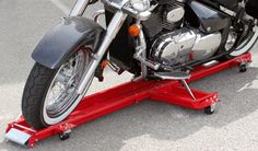 Motorcycle parking and storage solutions