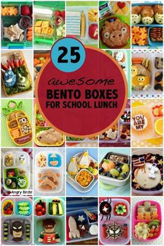 Bento Lunchbox Ideas for Back to School