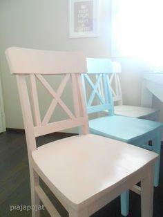 Pia ja pojat: Keittiön tuolit