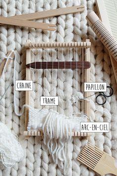 anatomy of a loom/ DeerJane                                                                                                                                                     Plus