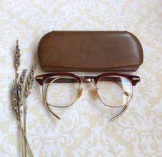 Vintage Cat S Eye Glasses Prescription Spectacles In Original Case Vintage Eyewear Photo Prop Old Gla Vintage Cat Eye Glasses Vintage Eyewear Cat Eye Glasses