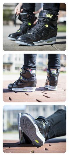 Nike Air Revolution Sky Hi - Women's #Casual #Wedges