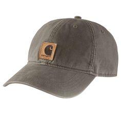 d88bbb2bc04 Carhartt Men s OFA Driftwood (Brown) Cotton Cap Headwear