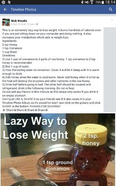 Weight loss mix