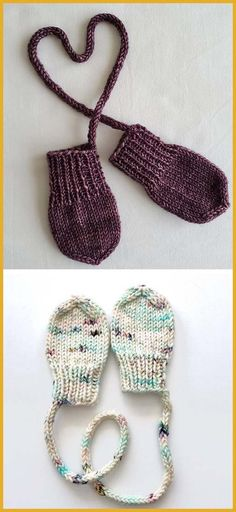 Teeny-tiny Knit Mitts - Free Pattern - Stricken Handschuhe und Socken knitting - FREE Handschuhe Knit Knitting Mitts PATTERN Socken Stricken TeenyTiny und einfache Anf nger h keln Hausschuhe How To Start Knitting, Easy Knitting, Knitting For Beginners, Knitting Socks, Knitting Patterns Free, Free Pattern, Blanket Patterns, Baby Mittens Knitting Pattern, Knitting Tutorials