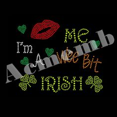 Acmemb Design To Shine Your St. Patrick's Day Rhinestone Transfers