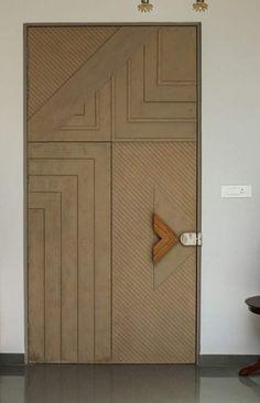 Modern Entrance Door, Main Entrance Door Design, Front Door Design Wood, Door Gate Design, Room Door Design, Wooden Door Design, Door Design Interior, Wooden Doors, Hall Interior