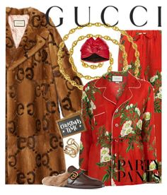 """Holiday shopping in Gucci"" by ellenfischerbeauty ❤ liked on Polyvore featuring Gucci, Van Cleef & Arpels, gucci, holiday and christimas"